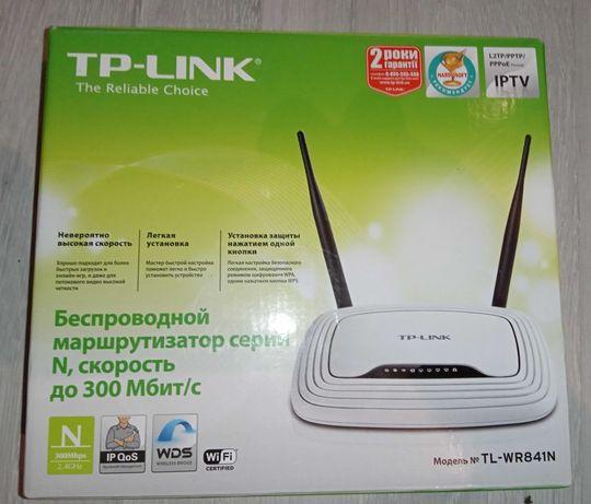 Роутер Tp-Link TL-WR841N беспроводной маршрутизатор до 300 мбит/с