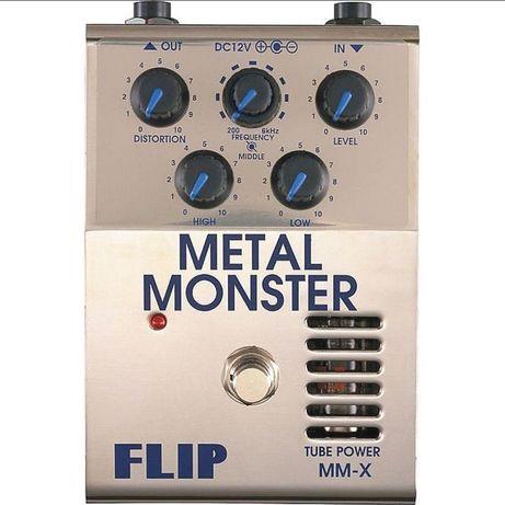 Guyatone MMX Metal Master - pedal distorção valvula