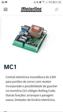 Central motorline MC1