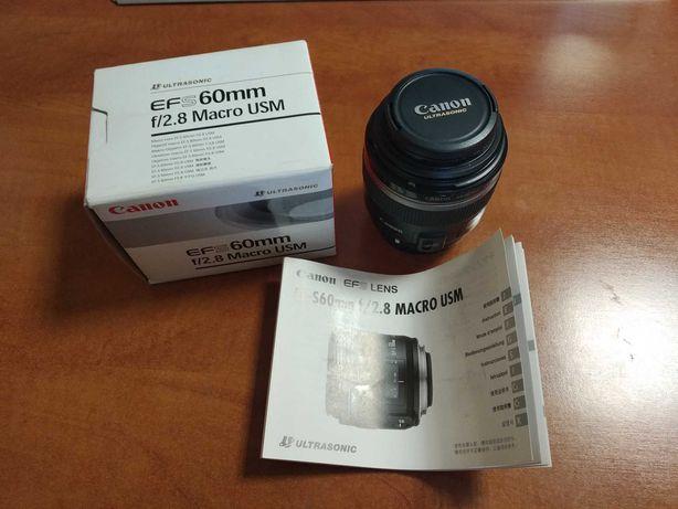 Obiektyw Canon EF-S 60mm f/2.8 Macro USM