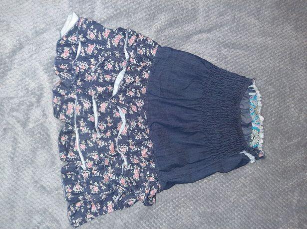 Sukienka jeansowa mini