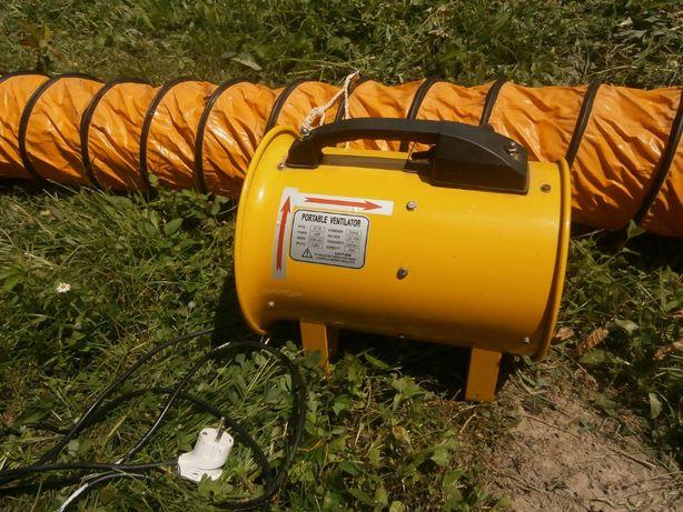 Вентилятор переносной для нагнетания или откачки воздуха из помещений