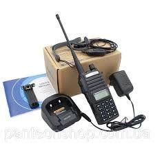 Рация, Радиостанция Baofeng UV-82 8Ватт двухканальная с гарнитурой
