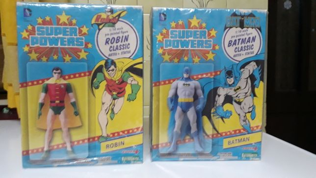 Figura do Batman e do Robin da Artfix
