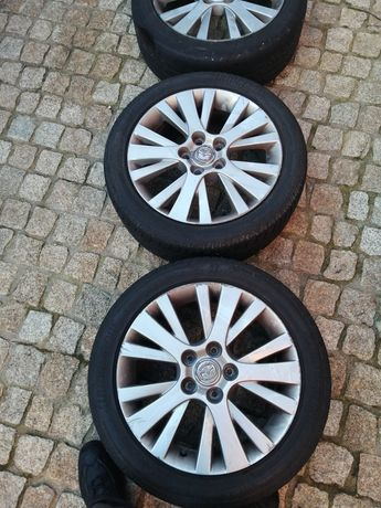 Jantes mazda 5x114.3 com pneus