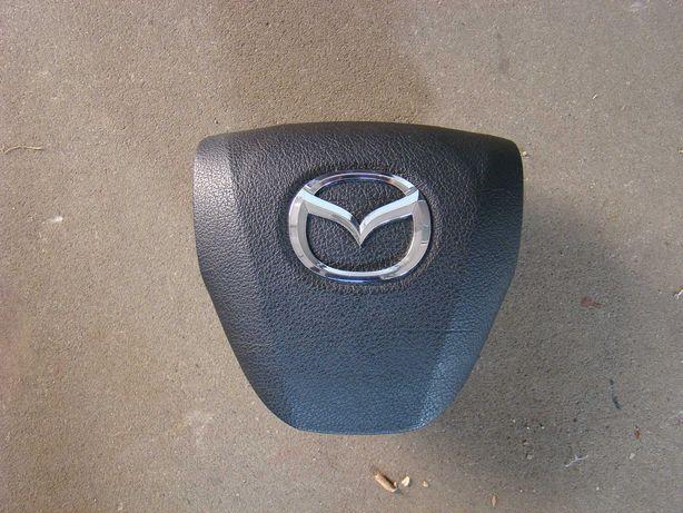 Pokrywa atrapa poduszki kierowcy Mazda 3  09-13