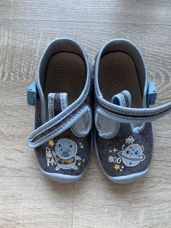 100% skórzana wkładka, 51015 kapcie, buciki, buty, sandały 13,5 cm