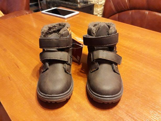 Chłopięce buty r. 27