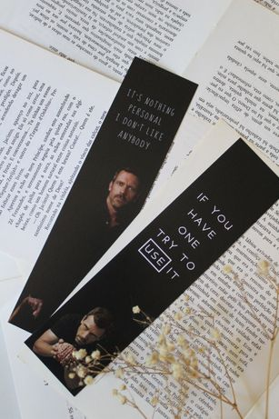 Marcadores de livros | séries