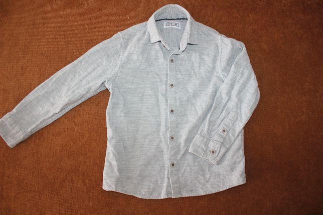 Рубашка серая Next на 4-5 лет