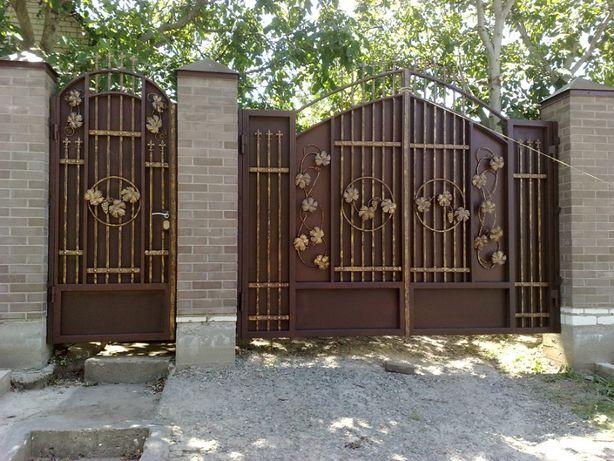 Металлоконструкции,сварочные работы,забор,ворота,гараж,навес