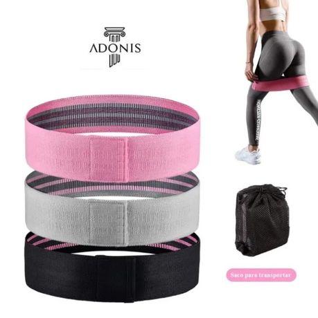 Bandas Resistência Tecido Elástico Fitness Yoga Pilates Ginásio