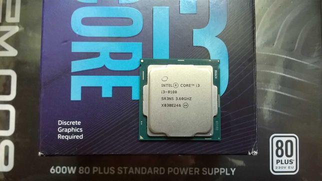 Procesor Intel Intel Core i3-8100 4x3,6GHz iGPU UHD 630 LGA 1151
