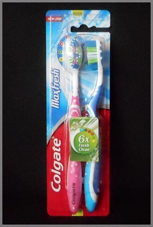 NOWA Szczoteczka do zębów COLGATE Max Fresh 6xFresh Clean.