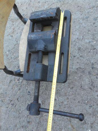Duze imadlo regulowane 15cm b.ciezkie techniczne warsztatowe Maszynowe