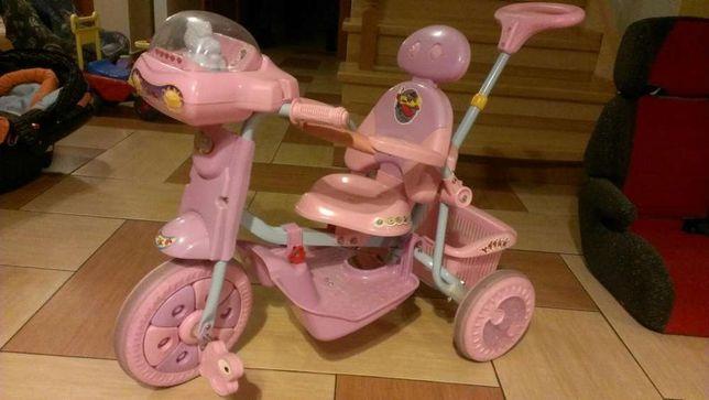 Rowerek dzieciecy dla dziewczynki