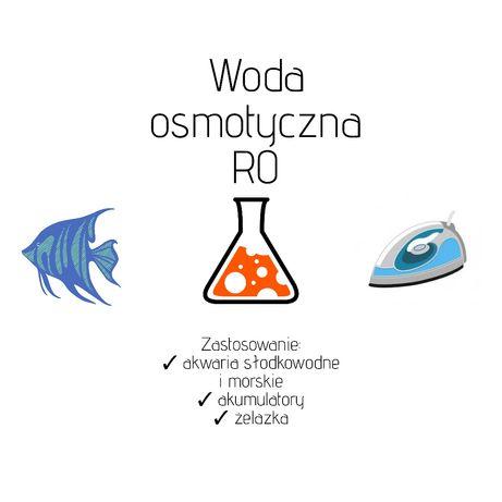 Woda osmotyczna | woda do akwarium | woda RO