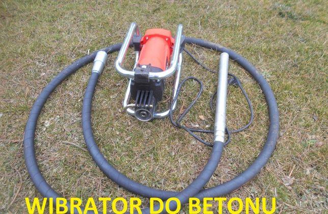 wibrator do betonu wiertnica zagęszczarka wynajem rusztowanie