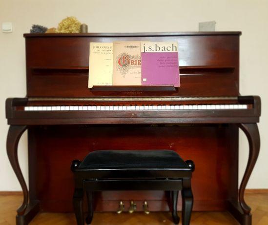 Pianino Nylund&Son + ława/stołek regulowany
