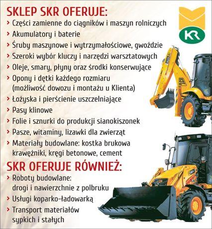 SKR w Michałowie. Sprzedaż części do maszyn i nie tylko.