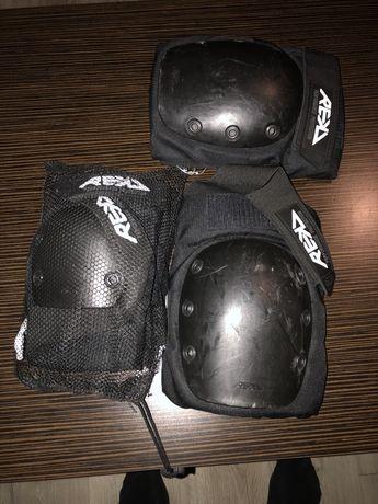 Ochraniacze kolan, łokci i kostek BMX rowerowe