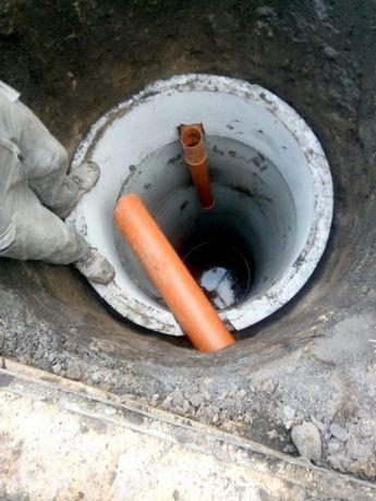 копаємо септік колодязь криниці, викопать каналізацію . чистка криниць