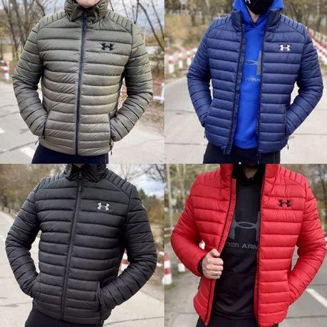 Зимняя куртка андер армор Теплая куртка under armour черная мужская