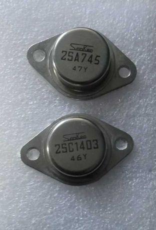 Комплементарная пара Sanken 2sa745 2sc1403