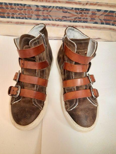 Ботинки женские HAPPINESS SHOES натуральная кожа Италия, 37 р.