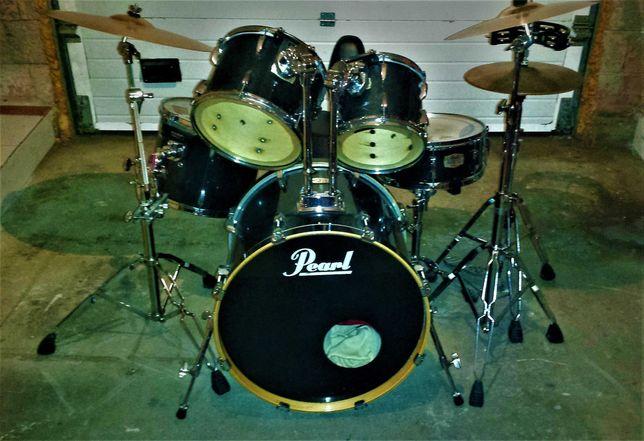 Bateria PEARL ELX Export Series Drums completa com EXTRAS