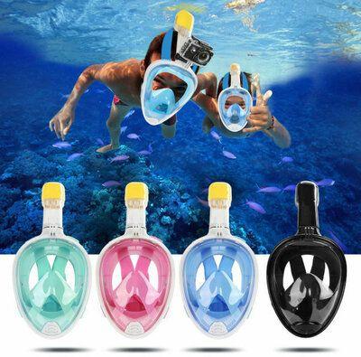 Маска для снорклинга подводного плавания,подводная,дайвинг,панорамная