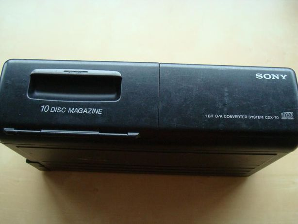 Leitor de cds Sony cdx-70