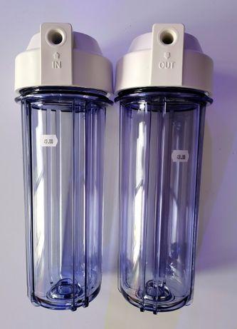Korpus filtra RO 10 cali przeźroczysty