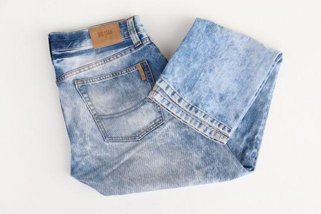 Męskie spodnie jeansowe Big Star Ronald 442 W30 L30 jeansy S okazja