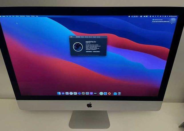 iMac 27 cali 2014 rok Retina 5K 3.5Ghz i5 24GB Ram, Stan jak nowy