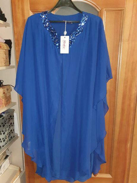Шикарное платье в большом размере.