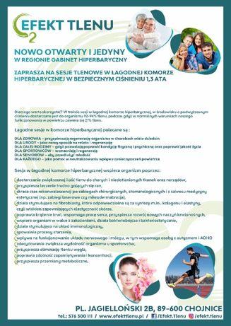Gabinet Hiperbaryczny Efekt Tlenu w Chojnicach