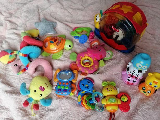 Zabawki interaktywne niemowlęce Fisher price