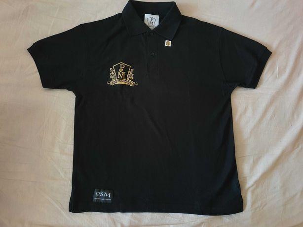 NOWA koszulka męska polo PSM t-shirt polówka Prawilni z zasadami haft