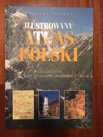 Ilustrowany Atlas Polski. Nasza Ojczyzna Readers Digest NOWE