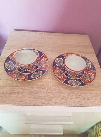 Conjunto Saqué Japão pintado á mão