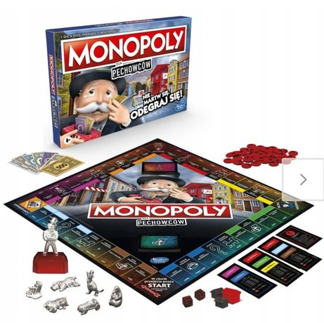 Monopoly monopol dla pechowców gra nowa w folii mikołaj