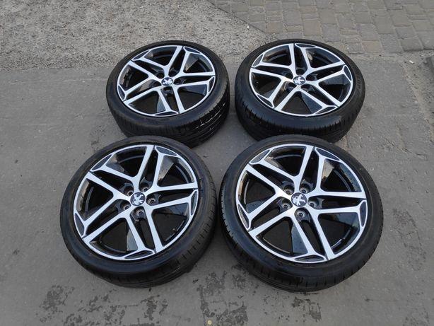 Комплект оригинальных литых дисков и шин R18 для Peugeot, Renault