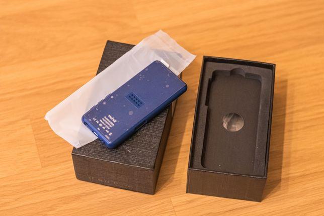 MP3 MP4 плеер Mahdi M9 компактный и стальной 8Gb Hi-Fi, синий