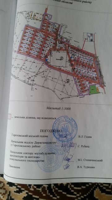 Продам земельну ділянку у м.Горохів