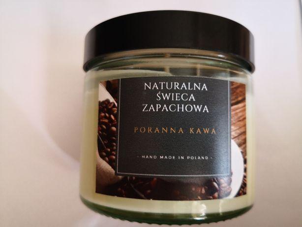 We2Naturalnie Naturalna świeca sojowa zapachowa PORANNA KAWA 50 god