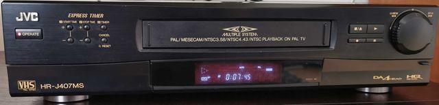 Magnetowid VHS JVC HR-J407MS, 4 głowicowy
