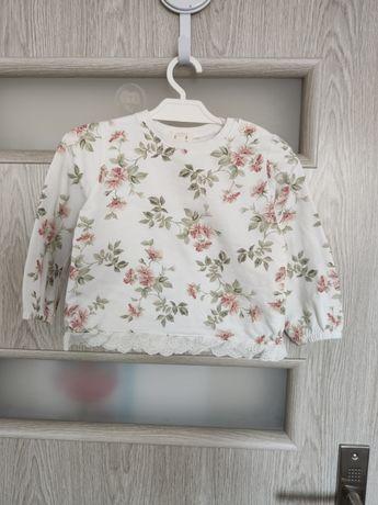 Bluza w kwiatki newbie 86