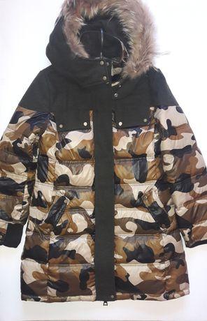 Красивая зимняя куртка -парка