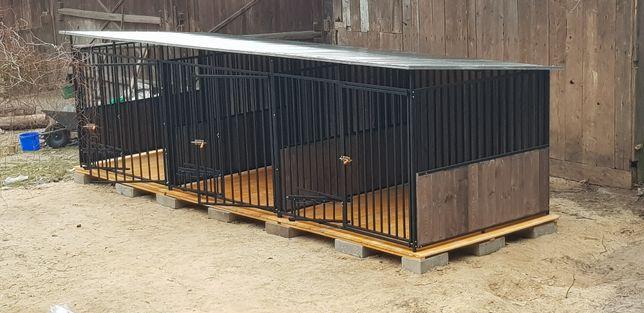 Stabilne i solidne kojce dla psów. Budy! Wiaty śmietnikowe, składziki.
